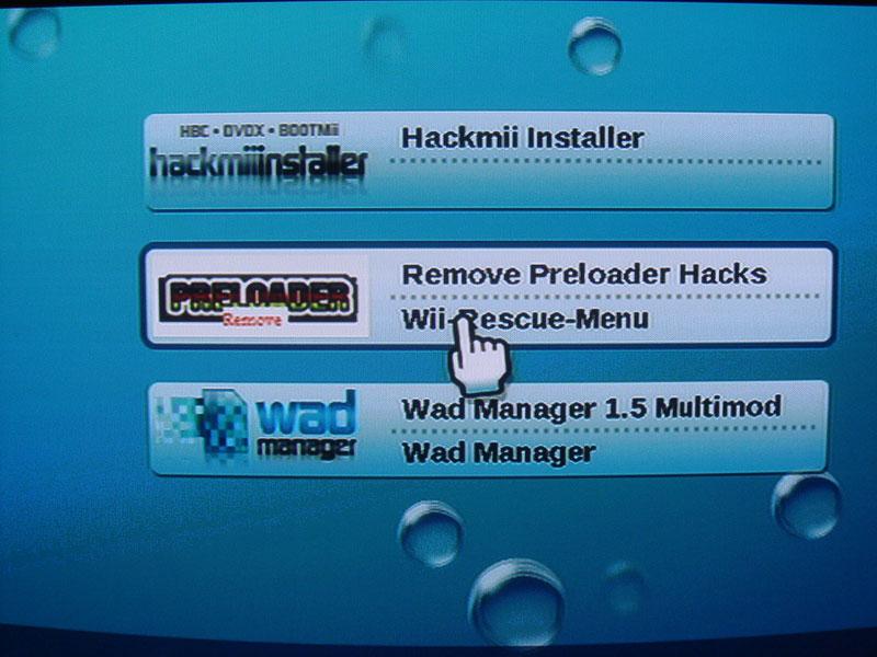 Wii nach Homebrew Channel auf Originalzustand zurücksetzen