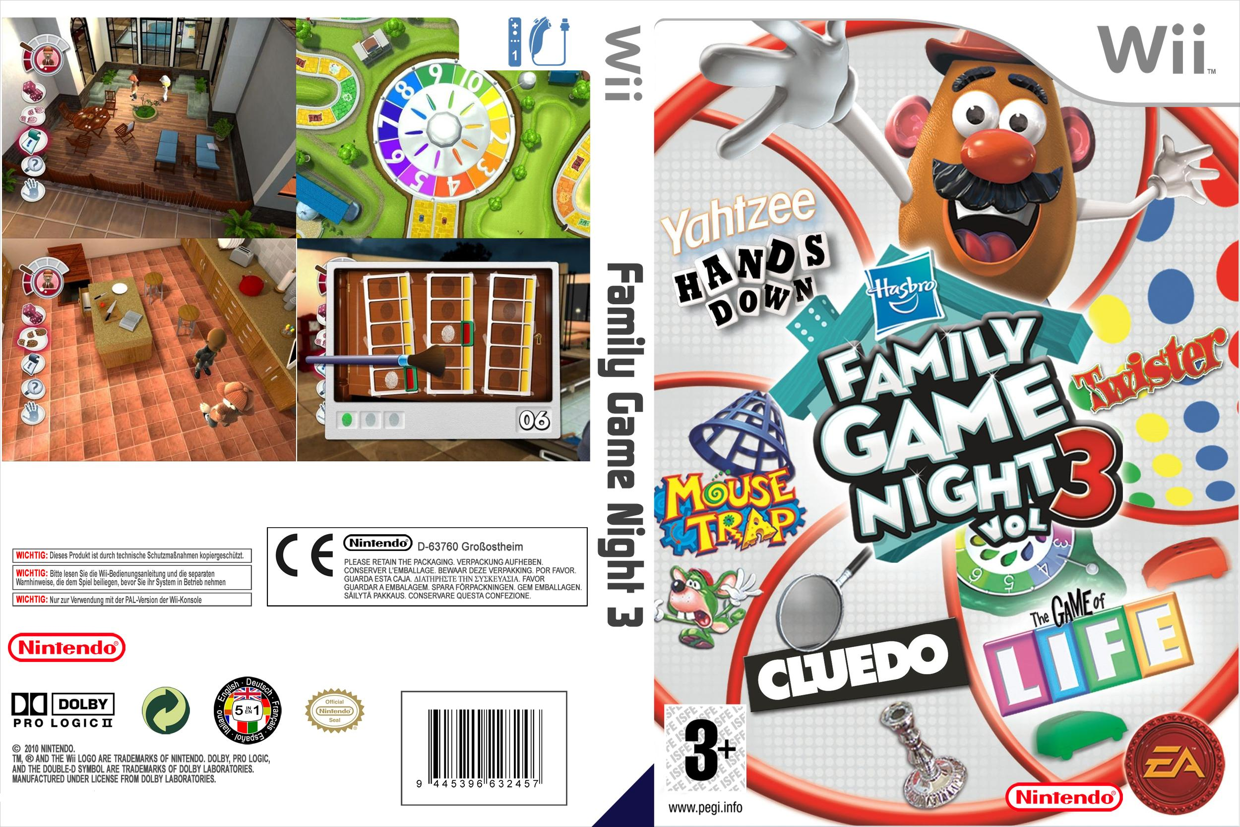 Family Game Night 3 COVER