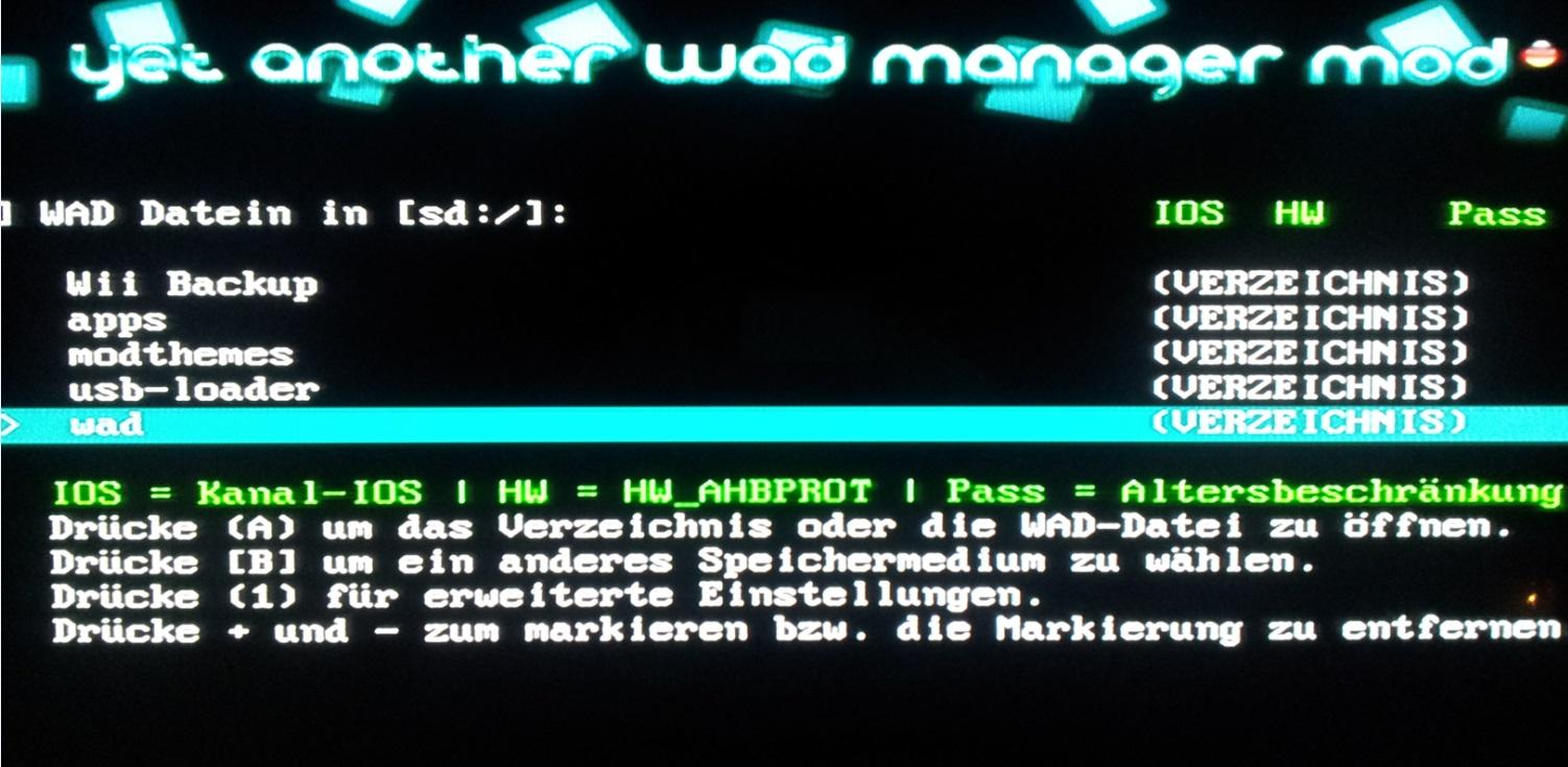 WAD Dateien installieren mit Yawmm   Jailbreak Homebrew Forum MonkeyDesk